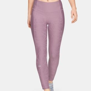 Under Armour Ankle Crop Jacquard Leggings Large